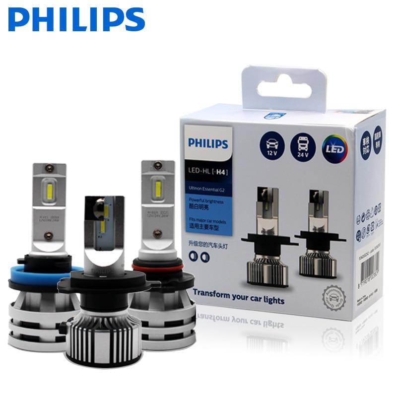 Car-Fog-Lamp HB4 H16 Essential 9003 HB3 H11 9006 9005 Philips Ultinon 6500K H1R2 9012