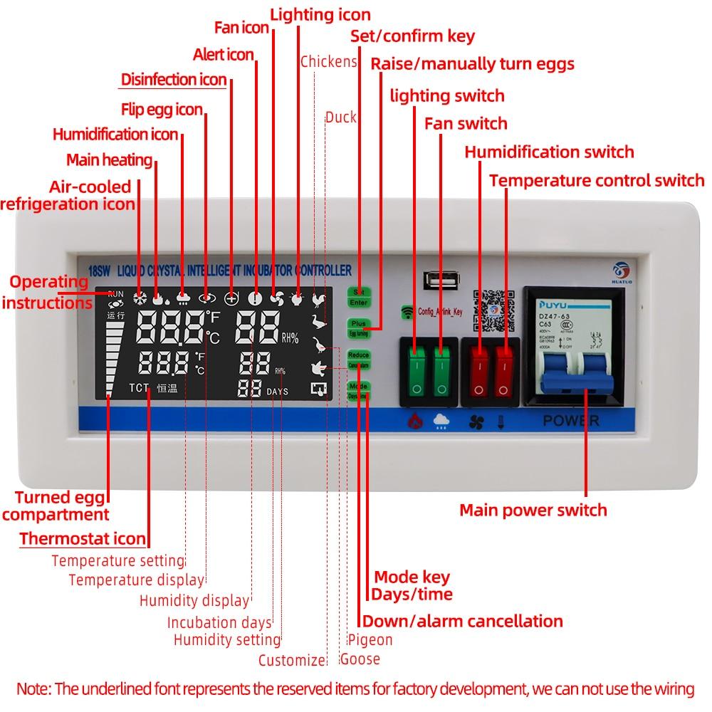 XM18SW Incubator Controller