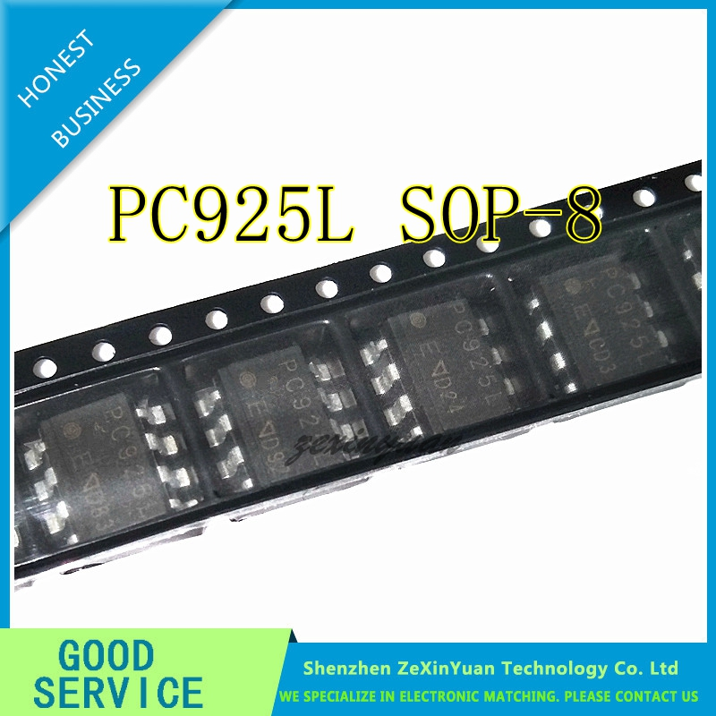 10PCS/LOT PC925L PC925 SOP-8 HIGH SPEED OPTOCOUPLER GATE DRIVE