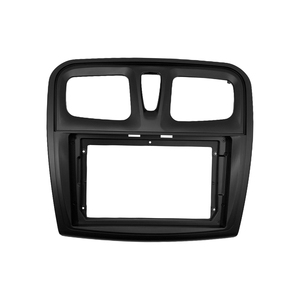 Image 4 - إطار DVD للسيارة 1 2din ، محول تركيب الصوت ، لوحة لوحة القيادة ، 9 بوصة لرينو سانديرو/رمز 2014 17 ، مشغل راديو