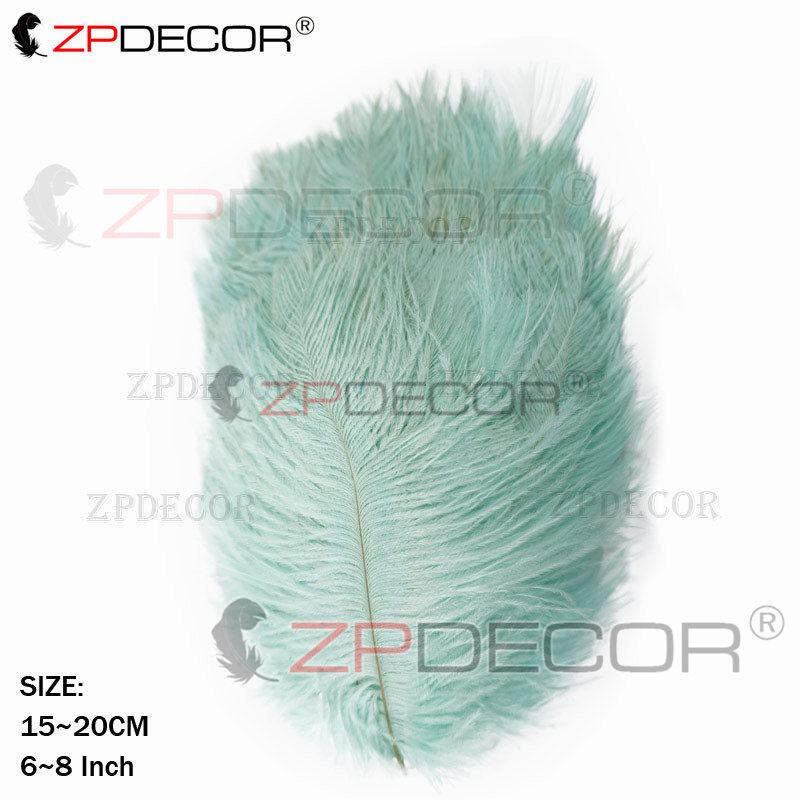 Wholesale Feather 15 20 CM 6 8 Inch Ostrich Feather for DIY Jewelry Craft Making Wedding