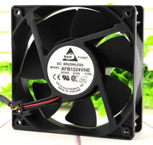 Para delta afb1224vhe t7ry dc 24v 0.57a 120x120x38mm ventilador de refrigeração do servidor