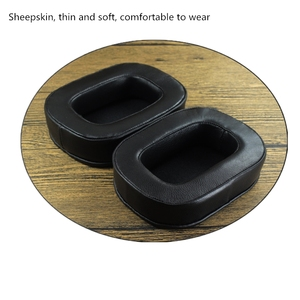Image 5 - Soft Sheepskin Memory Foam Earpads Ear Pads Cushions for acoustic research AR H1 Headphones