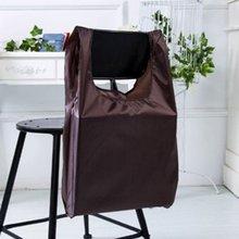 Компактный размер сплошной цвет Складная ткань оксфорд хозяйственная сумка Экологичная многоразовая переносная сумка для продуктов
