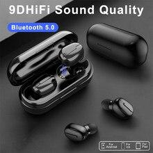 L13 tws sem fio bluetooth fones de ouvido 9d estéreo de alta fidelidade fone de ouvido ipx6 redução de cancelamento de ruído display a cores fones de ouvido para o telefone