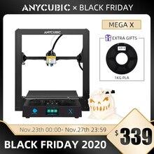Anycubic i3 Mega X طابعة جديدة ثلاثية الأبعاد لتقوم بها بنفسك 300*300*305 مللي متر مطبوعة كبيرة الحجم imprimante ثلاثية الأبعاد grand taille impressora