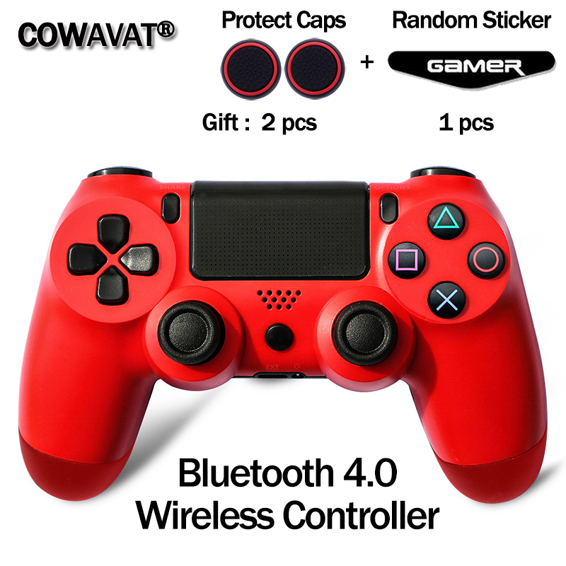Bluetooth 4.0 Wireless Controller Joystick for PS4 Console Gamepads Controller for Playstation 4 Dualshock PS4 Gamepads for PC(China)