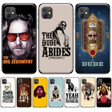 Movie Film The Big Lebowski Cover Black Soft Shell Phone Case For iphone 5 5S SE 5C 6 6S 7 8 plus X XS XR 11 PRO MAX black cover darling in the franxx for iphone x xr xs max for iphone 8 7 6 6s plus 5s 5 se super bright glossy phone case