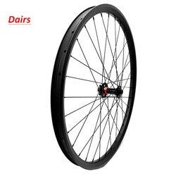 29er boost D791SB 110x15mm tylko przednie węglowe koła bezdętkowe koło rowerowe 34x30mm 735g węglowe koła mtb bike