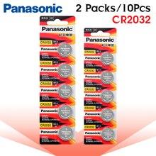 10 шт. абсолютно новая батарея для PANASONIC cr2032 3v кнопочные батарейки для часов компьютера cr 2032 для игрушек часов