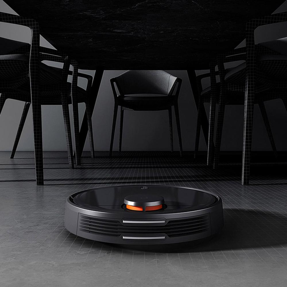 Image 3 - Xiaomi Mijia Sweeping Mopping Robot Vacuum Cleaner STYJ02YM 360 Degrees Laser Scanning  LDS Radar Ranging APP Control for Home-in Vacuum Cleaners from Home Appliances