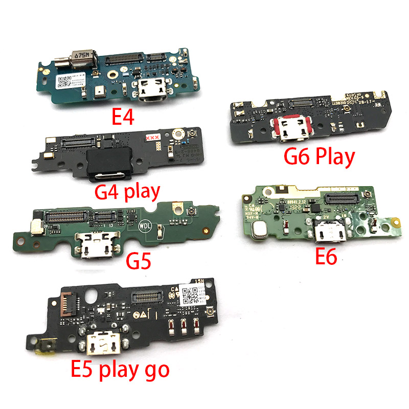 New USB Charging Port Flex Cable For Motorola Moto G4 G5 G6 Play G3 X4 E5 Dock Connector Charging Port Flex Cable