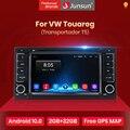 Автомагнитола Junsun на Android 10,0, мультимедийный плеер с GPS для Volkswagen VW Touareg Multivan 2002-2010, Bluetooth, FM, 2 din, DVD-плеер