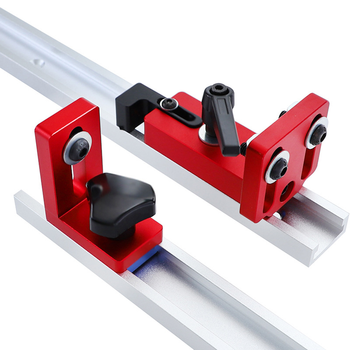 New 30/45 T-Slot connector Miter Stand Chute Locator Track Stop Sliding Retainer Gauge Fence Connector