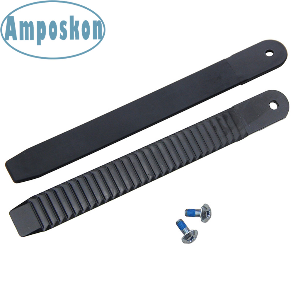 2 PCS/Set New High Quality Black Snowboard Ankle Ladder Strap Binding Replacement 8.86 Inch Length Snowboarding Ski Accessories