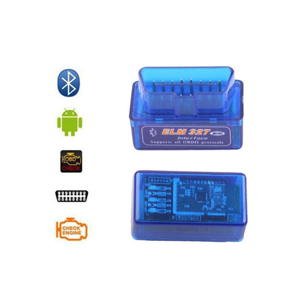 Mini Elm327 Bluetooth OBD2 V1.5 Car Diagnostic-Tool Scanner Elm-327 OBDII Adapter Auto Diagnostic Tool Car Accessories