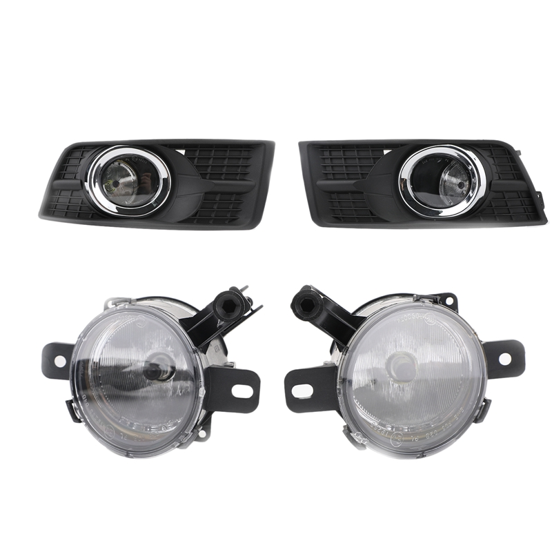 Front Bumper Fog Light Assembly, Front Bumper Fog Light And Fog Light Shade For 10-15 Cadillac SRX 94708773 94708774