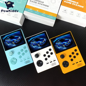 Image 4 - POWKIDDY A19 Pandoras Box Android Supretro Handheld Game Console IPS Screen Built In 3000+Games 30 3D Games WiFi Download