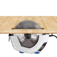 Electric circular saw 9 inch woodworking table saw cutting machine household circular saw flip