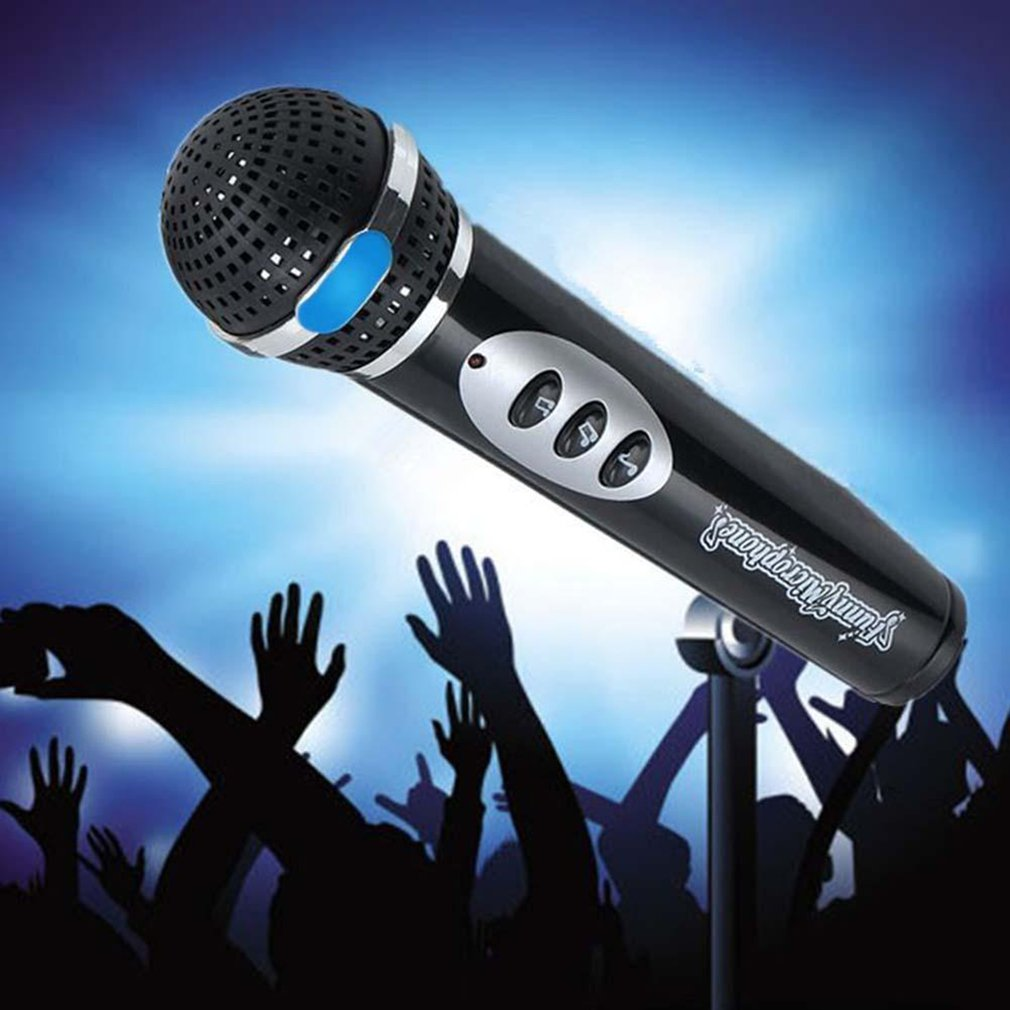 Детские микрофоны для мальчиков и девочек, микрофон, караоке, пение, Детская забавная музыкальная игрушка, подарки