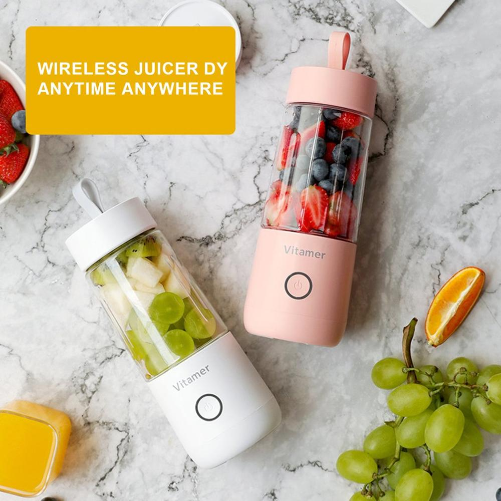 Vitamin Juice Cup Vitamer Portable Juicer V Youth Charging Juice Cup Electric Juice Cup Professional Fashion image