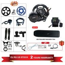 Hot Koop Gratis Verzending Bafang 48V 750W BBS02b Elektrische Fiets Midden Aandrijfmotor Kit Mm G340.750