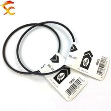 2PCS/lot 5M375 drive belts Gates Polyflex Belt for Optimum D 180 machine Free shipping