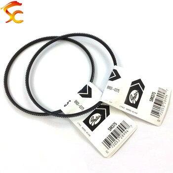 цена на 2PCS/lot 5M375 drive belts Gates Polyflex Belt for Optimum D 180 machine Free shipping