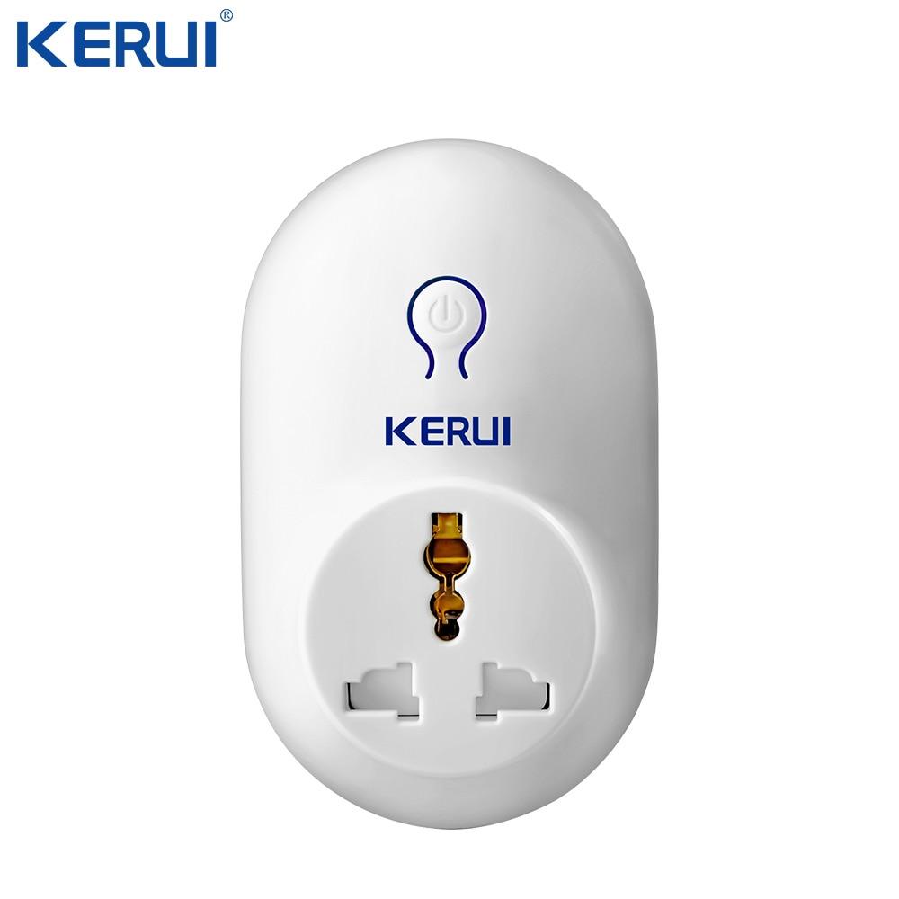 Kerui Wireless Remote Switch Smart Power Socket Plug 433MHz EU US UK AU Standard For Home Security Alarm Control
