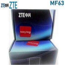 ZTE MF63 3G 21Mbps cep wifi yönlendirici mobil wifi ile kilidini 3g anten