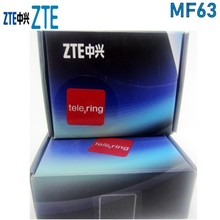 ZTE MF63 3G 21Mbps pocket wifi router mobile wifi unlock with 3g antenna