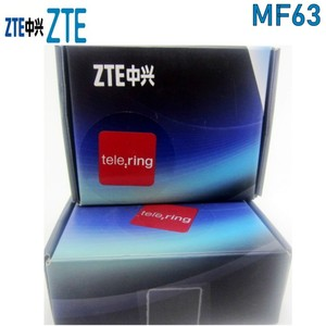 Image 1 - ZTE MF63 3G 21Mbps pocket wifi router mobile wifi unlock with 3g antenna
