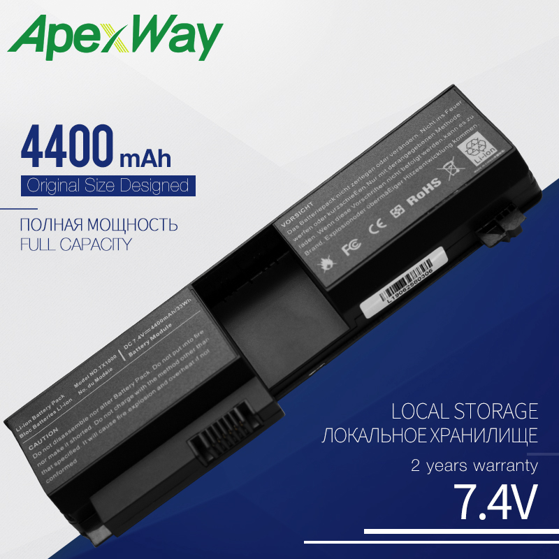 Laptop Battery for HP Pavilion tx1000 tx1100 <font><b>tx1200</b></font> tx1300 tx2000 tx2100 tx2500 tx2600 RQ203AA 431325-321 441131-001 441131-003 image