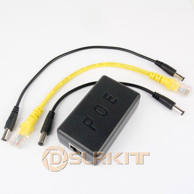 기가비트 802.3at 24 와트 액티브 poe 스플리터 48 v ~ 12 v 2a poe