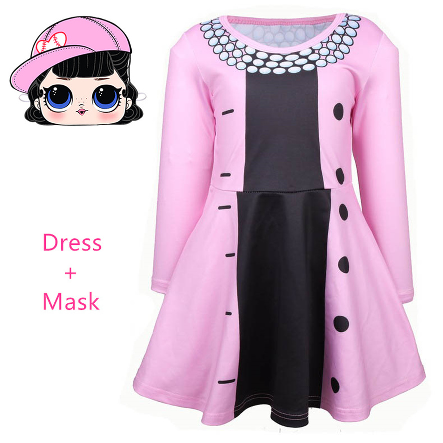 Lol Cosplay Girls Fancy Dress Queen Bee Costume Long Sleeve Clothes Kids Party Cosplay Princess Costume Child Cosplay Dress