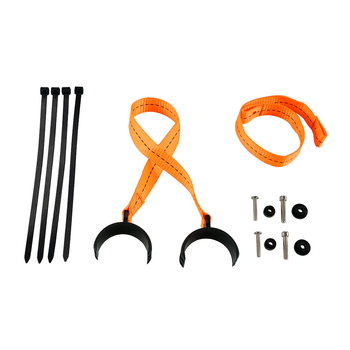 Front Rear Holding Strap for KTM SX SXF XC XCW XCF XCF-W EXC EXCF TPI Six Days 125 150 250 350 450 500 300 525 530 2004-2018 front fork guard bolt screw for ktm sx sxf exc excf xc xcf xcw xcfw 65 125 150 250 350 450 525 530 2000 2017 2018 2019 freeride