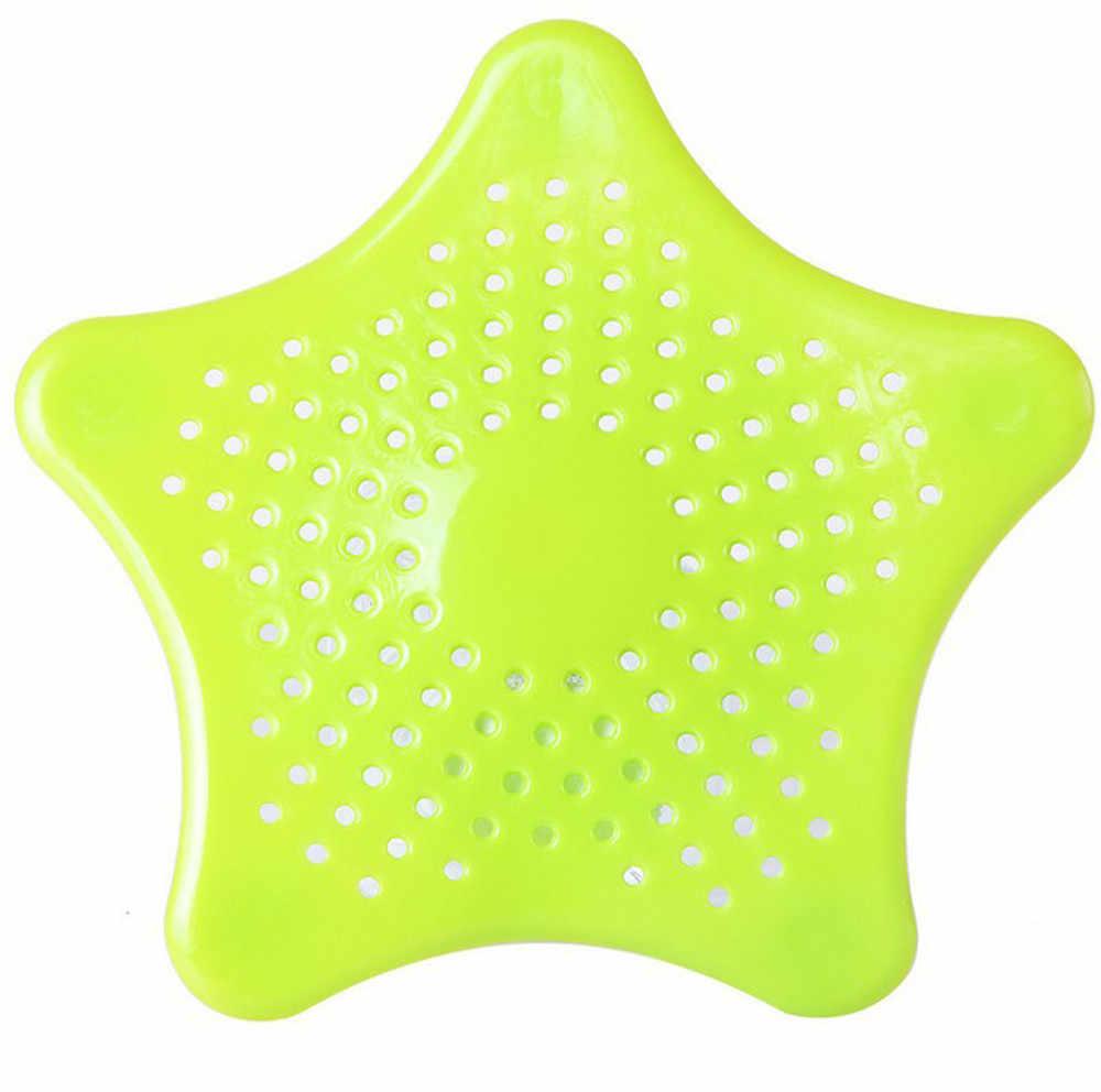 Estrella de baño drenaje de pelo Catcher tapón de baño enchufe colador filtro ducha Toliet baño cocina fregadero colador # jink