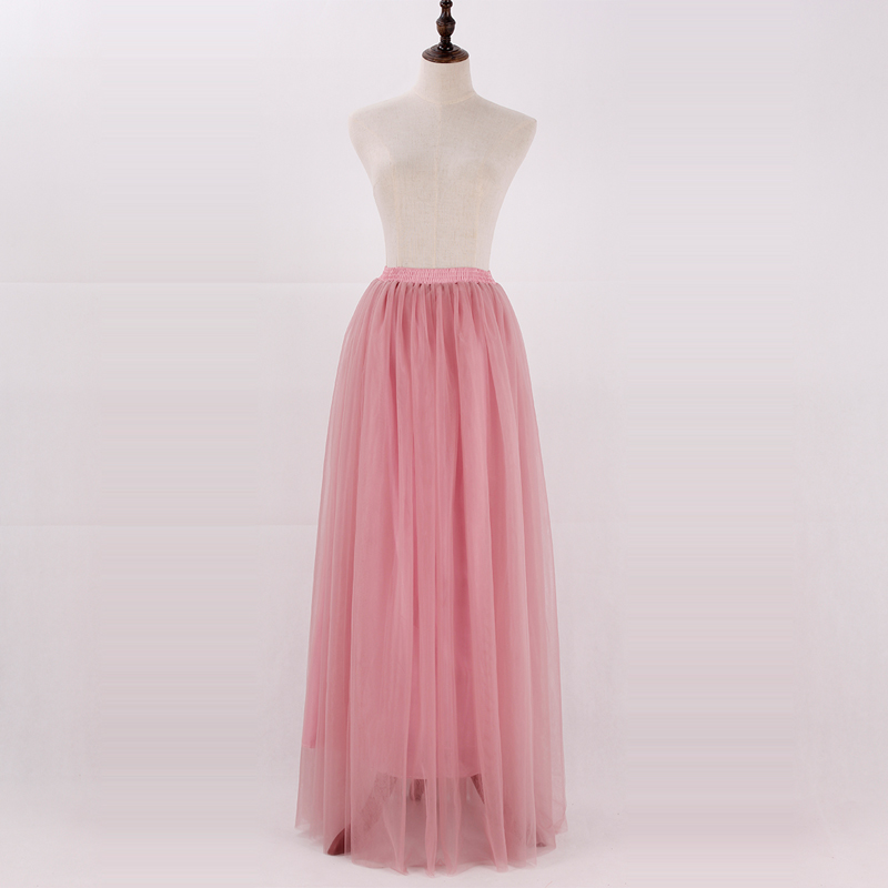 Women-3-Layers-Lace-Maxi-Long-Skirt-Soft-Tulle-Skirts-Wedding-Bridesmaid-Skirt-Ball-Gown-Faldas (1)
