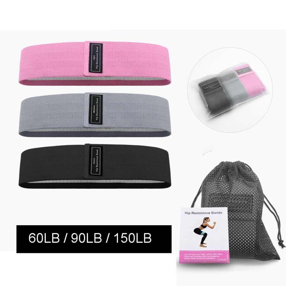 Weerstand Bands 3 Stuk Set Fitness Rubber Band Expander Elastiekjes Voor Fitness Oefening Band Thuis Workout Fitness Apparatuur