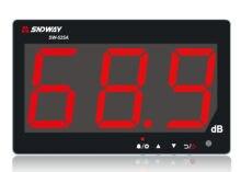 SNDWAY SW-525A testeur de sonomètre 30-130db grand écran LCD affichage tenture murale Type décibel testeur de mesure du bruit alarme