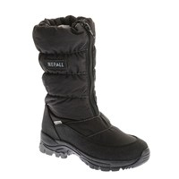 Nepall Marilene 27 Black Kids Boots Leather Keep Warm Sports Running Winter Shoes Boys Girls Durable Outdoor Hiking Shoes