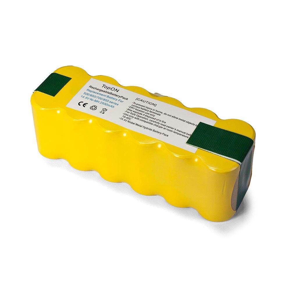Аккумуляторная батарея для iRobot Roomba 886 (2500mAh, 14.4V, Ni-Mh)