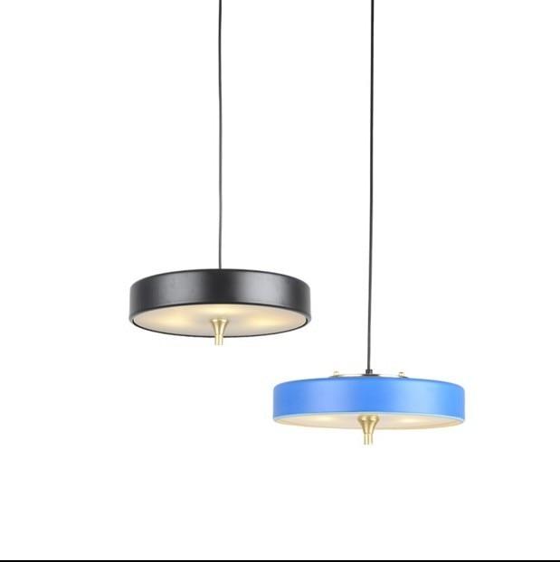 Modern Nordic Ambit Pendant Lights Denmark Colored Macaron Aluminum Led Pendant Lamp Kitchen Restaurant Light Ceiling Fixtures