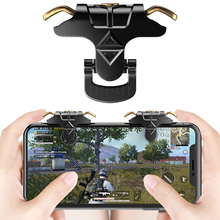 MK-1 L1 R1 for Pubg Mobile Game Controller Fire Key Shooter Button Gamepad Joysticks Grip Trigger Control for IPhone IOS Android