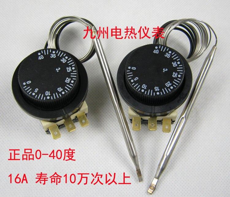 Genuine Product 0-40-Degree Thermostat Temperature Control Switch Temperature Controller Thermal Switch 0-40