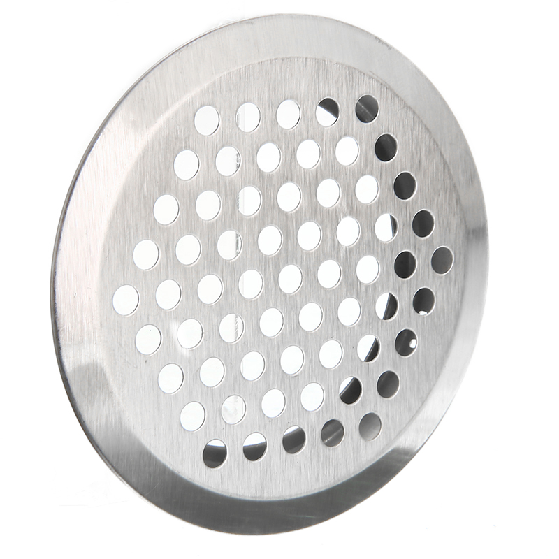 20pcs Ventilation Grille Air Circulation Stainless Steel Slotted Grille Cupboard Exhaust Ventilation Set Air Vent