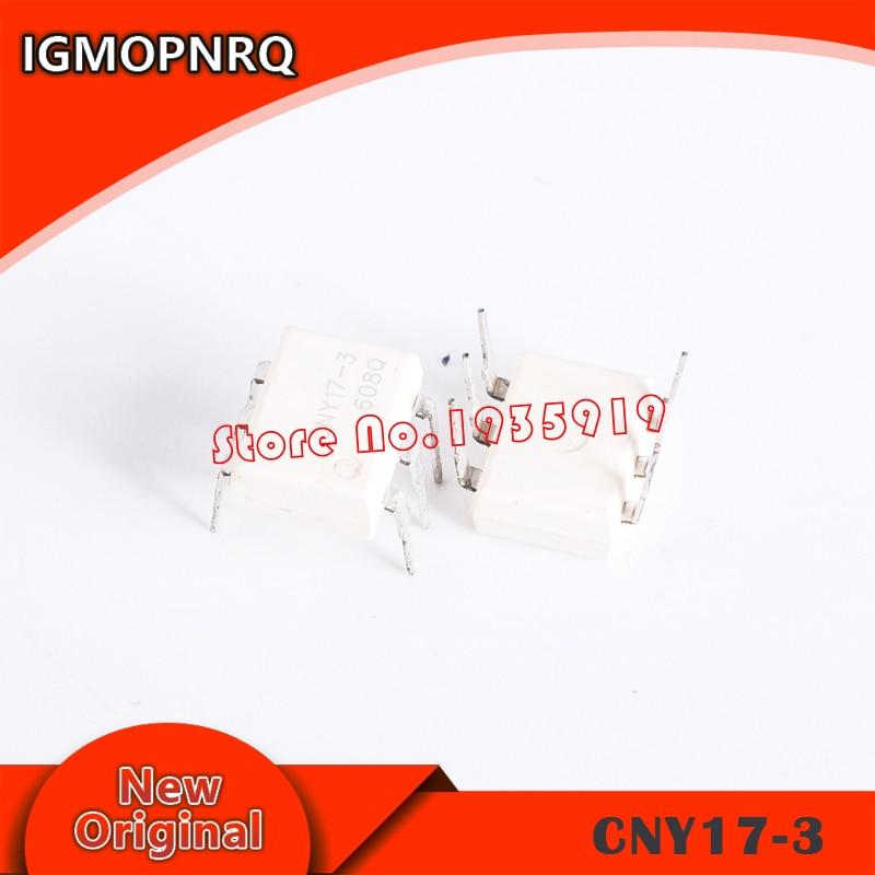 10pcs CNY17F-2 DIP-6 CNY17-2 DIP CNY17F-3 CNY17-1 CNY17F DIP6 CNY17 New And Original