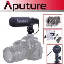 Aputure V Mic D1 pojemnościowy mikrofon Shotgun na Youtube wywiad wideo mikrofon do nagrań dla Canon Nikon Sony lustrzanki cyfrowe