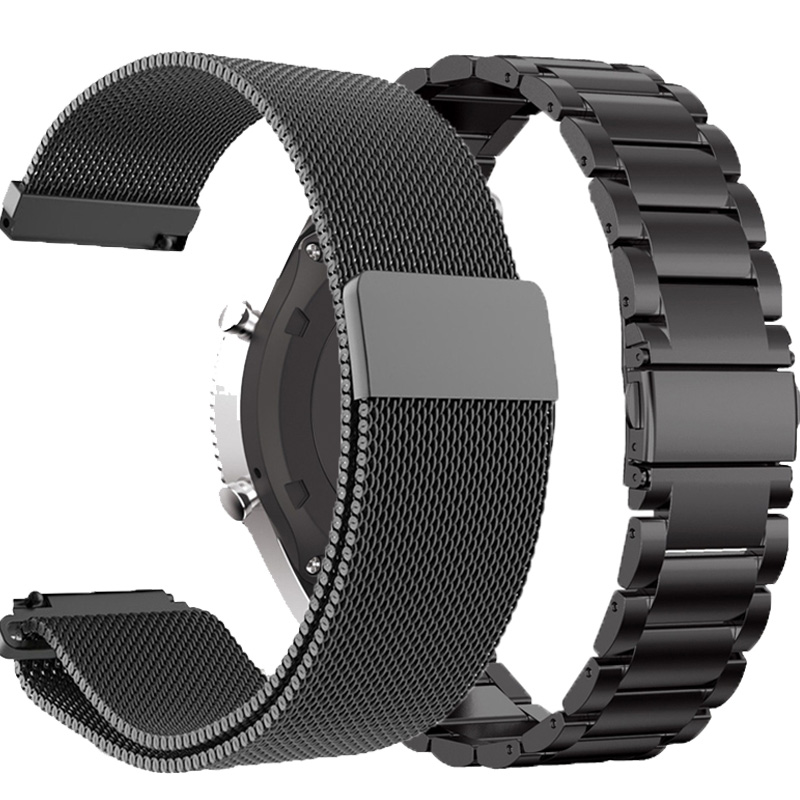 22MM Metal Strap For Huawei Watch GT/GT2 46MM Honor Magic Smart Band Bracelet Stainless Straps For TicWatch Pro Wristband Correa