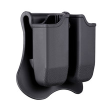 Amomax Tactical Double Magazine Pouch For Tokyo Marui/WE/ KJW/KSC/KWA/ATP/ISSC Lone Wolf Timberwolf Airsoft Training G17 G19 G18(China)